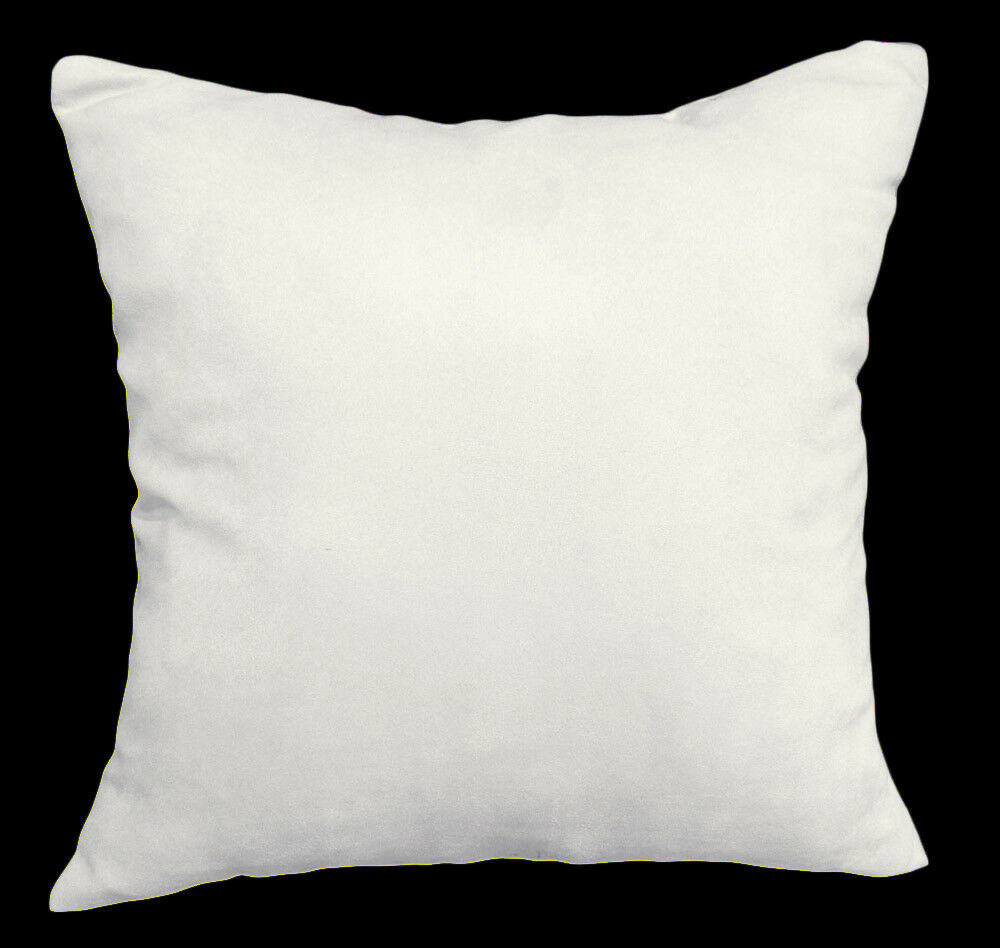 Mg16a Off White Lt Cream Soft Faux Suede Cushion Cover