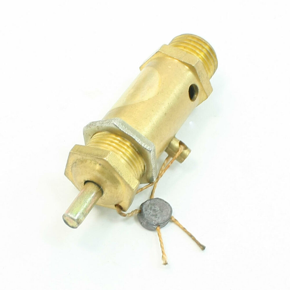 Cm thread metal safety pressure relief valve for air