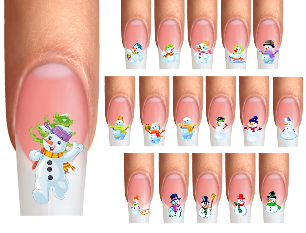 Snowflake Nail Art Pictures To Pin On Pinterest  TattoosKid