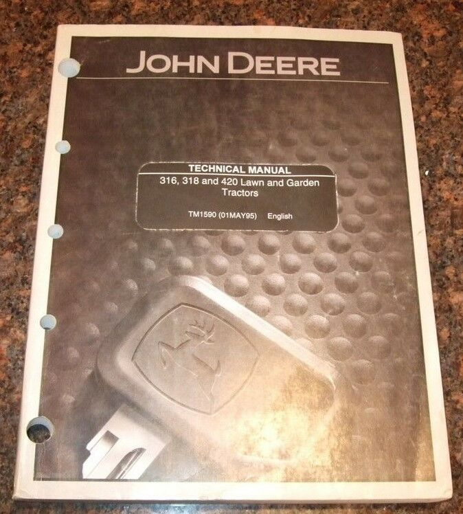 Jd 318 Owners Manual