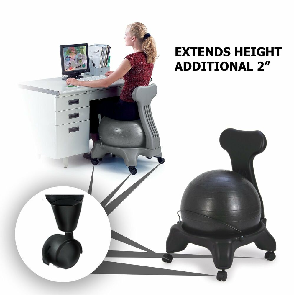 sivan height extenders 2 for balance ball chairs set of 4 ebay