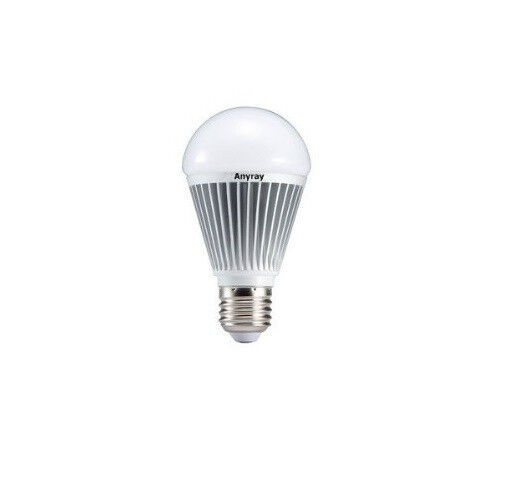 a19 led light bulb 560 lm 7 watt 40w 50w 60w 65w dimmable e26 e27 120v ebay. Black Bedroom Furniture Sets. Home Design Ideas