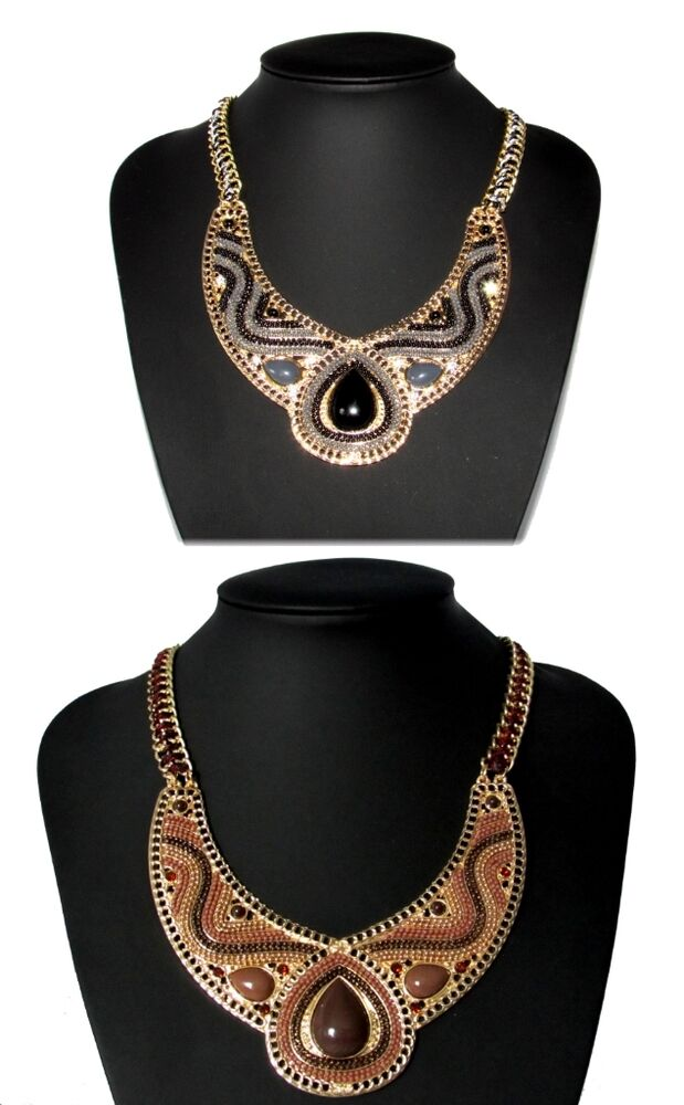 Vintage Style Egyptian Tribal Designer Fashion Jewelry ...