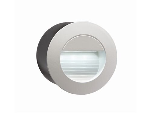 Small Exterior Wall Lights : Recessed White LED Round Wall Light Indoor/Outdoor Mini Light 80mm Diam NH020W eBay