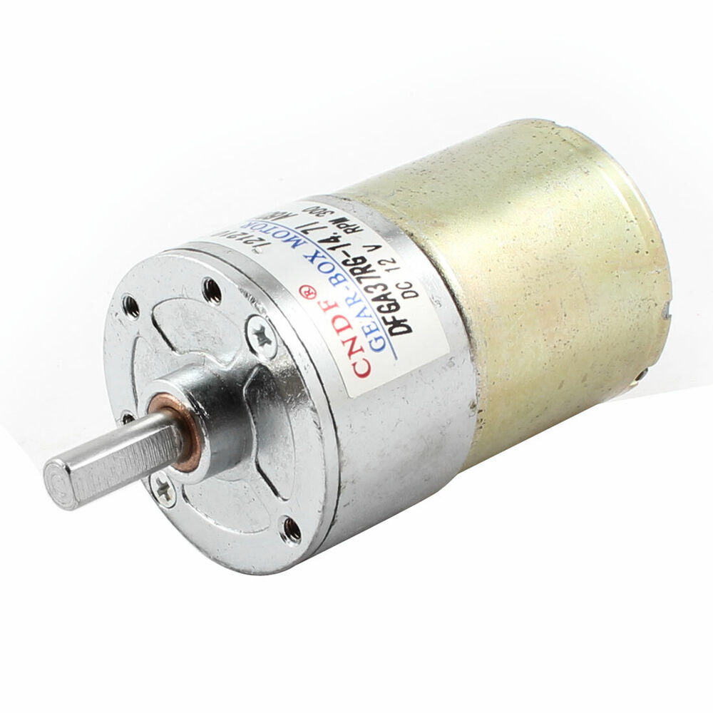 300rpm 12v high torque electric speed reduce dc gear box