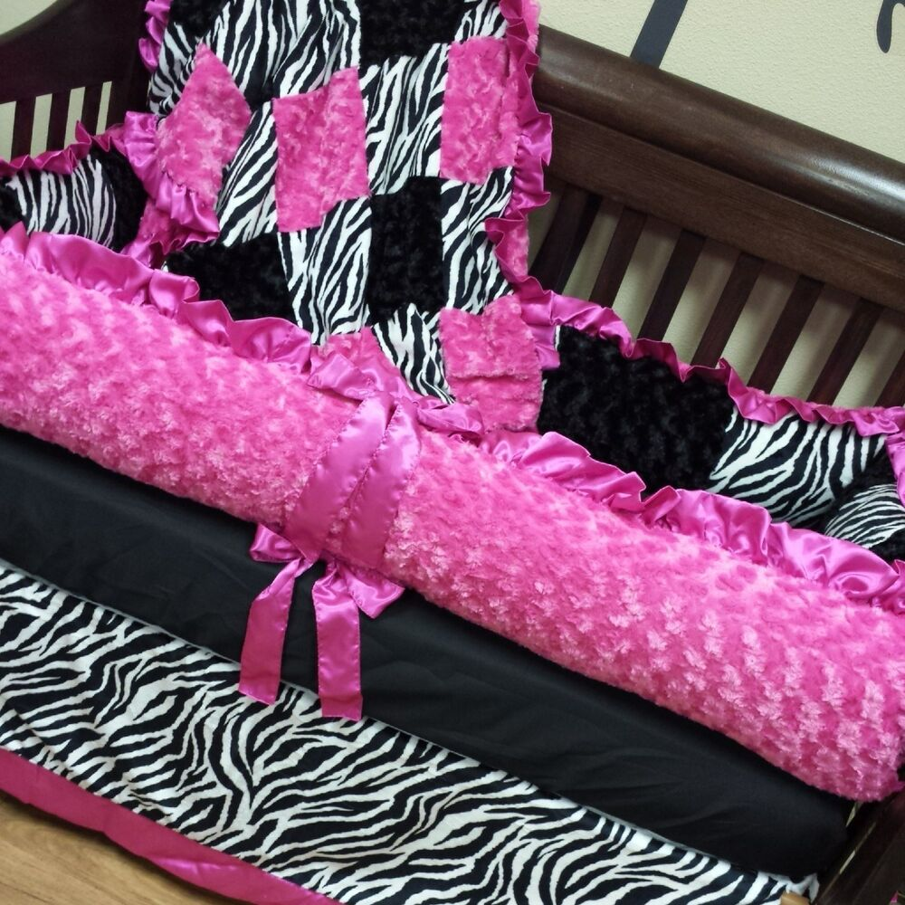 Zebra Crib Set Baby Bedding Ebay
