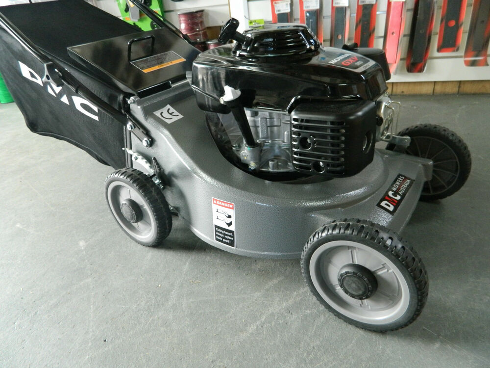 DMC LAWN MOWER- WITH A 5.5HP HONDA ENGINE MULCH OR CATCH 19 INCH CUTTING WIDTH | eBay