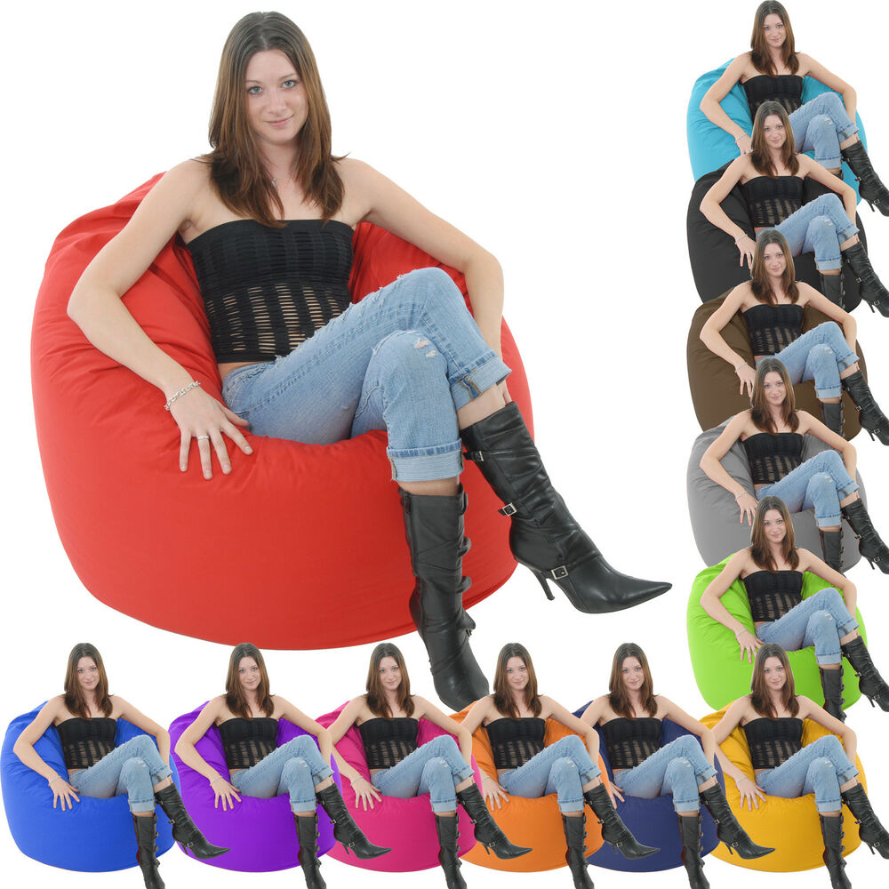 Giant Adult Bean Bag Chair Big Beanbag Lounger Bags Gamer
