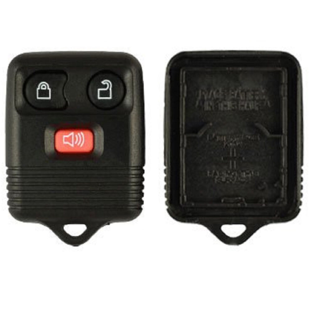 new replacement keyless alarm remote shell pad key fob. Black Bedroom Furniture Sets. Home Design Ideas
