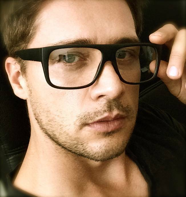 Glasses Frames Male : Big Square Thick Frame Clear Lenses Celebrity Eyeglasses ...