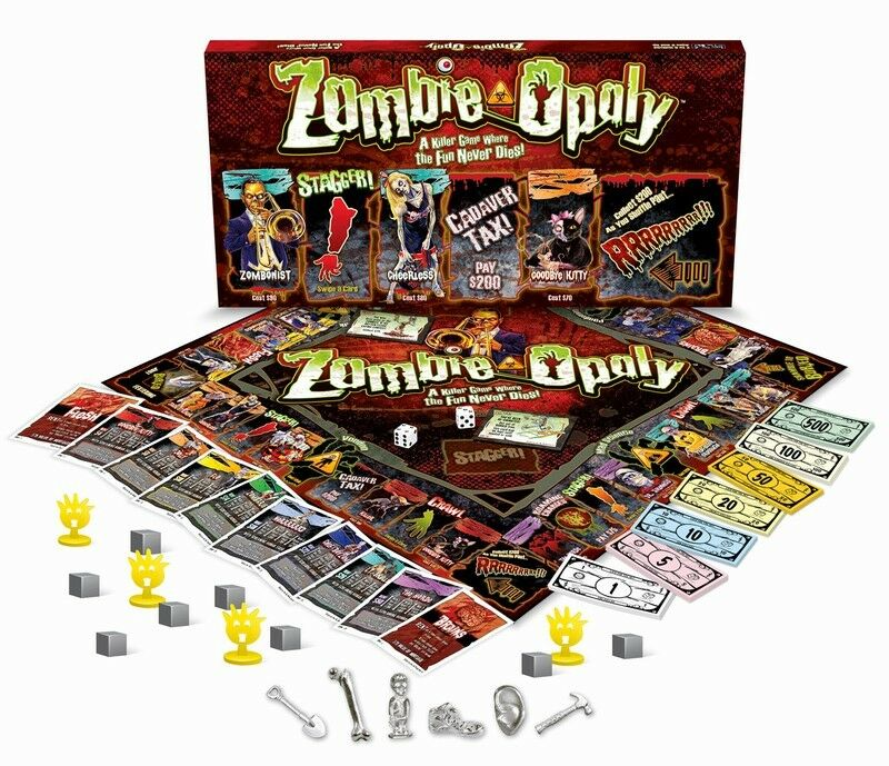 Zombie Board Games Board Game Zombieopoly