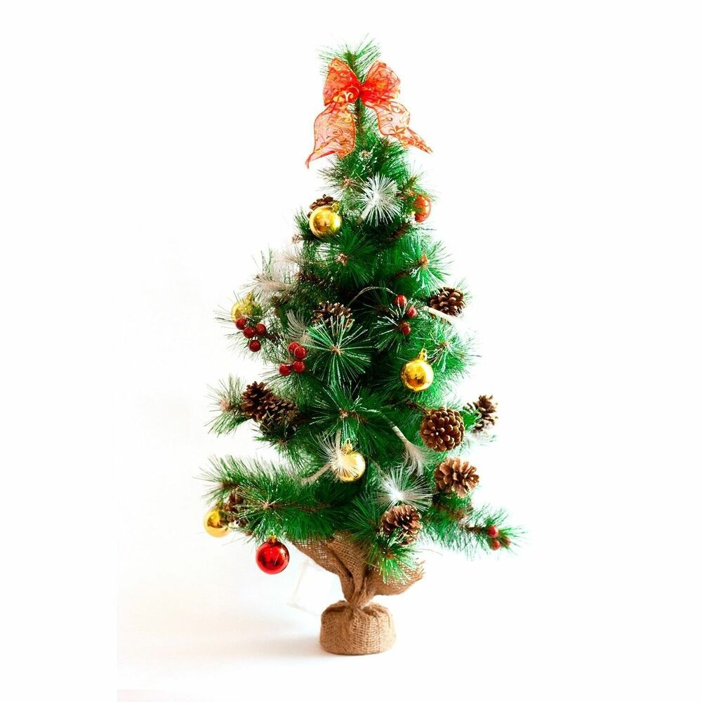 32 pre lit holiday tree 20 color changing led lights for Led christmas decorations