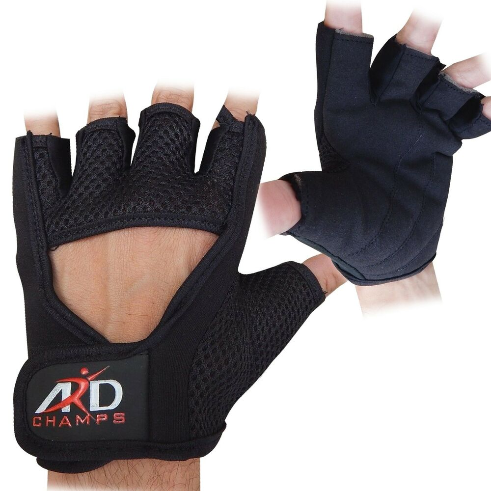 Reebok Strength Training Gloves Weight Lifting Fitness: ARD Weight Mesh Lifting Gloves Strengthen Training Fitness