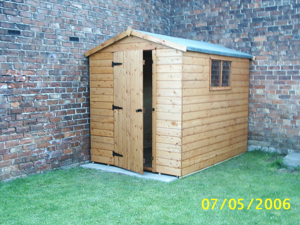 Cheapest 8 x 6 tongue and groove shed