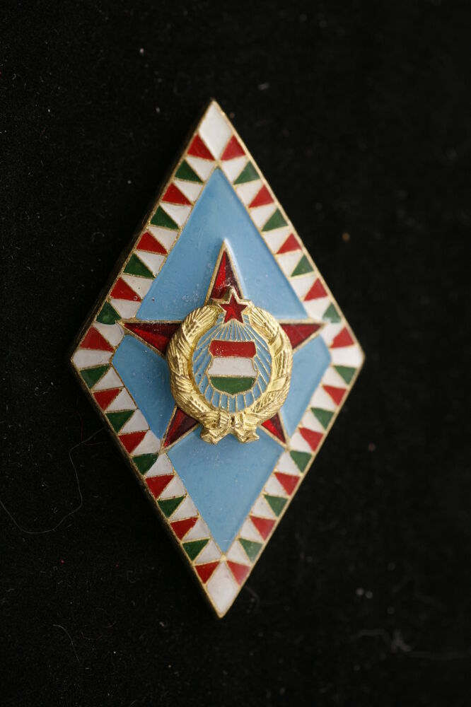 Hungary Hungarian Badge Army General Military Academy ...