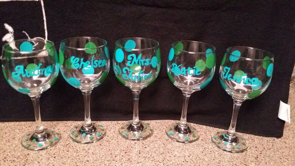 Decorative Wine Glasses  Custom  Made To Order  Ebay. Mirror Decoration Ideas. Teacher Classroom Decor. Fancy Living Room Furniture. Discount Garden Decor. Room Dividers. Football Decorating Ideas. Dining Room Light Fixtures Home Depot. Disney Decorated Homes