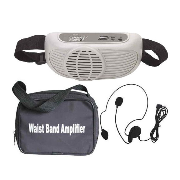 awp 6202 waist band battery powered pa system ebay. Black Bedroom Furniture Sets. Home Design Ideas