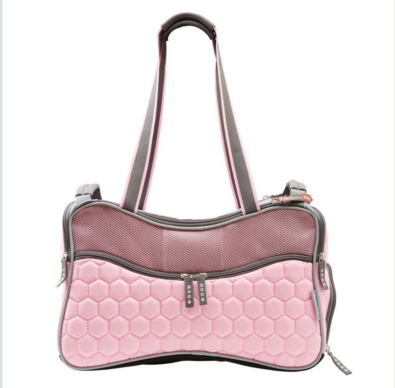Pink Petagon Airline Approved Dog Cat Pet Carrier Tote Car
