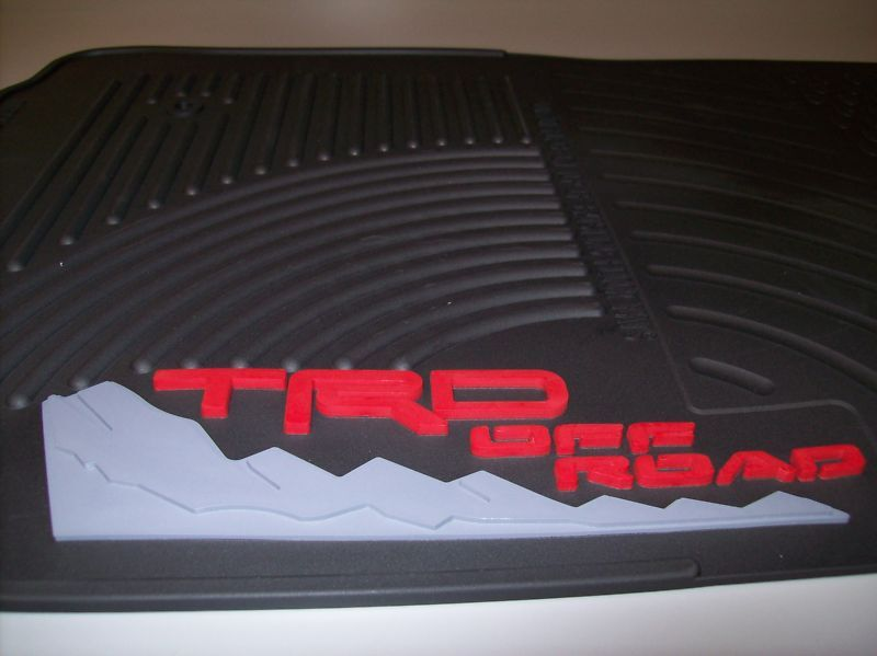 Weathertech Car Mats >> 2005-2011 TACOMA TRD ALL WEATHER FRONT FLOOR MATS PT908 ...