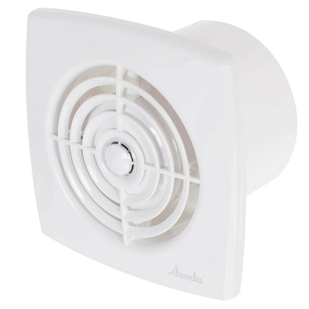 Bathroom extractor fan 100mm 4 timer humidity sensor humidistat shower wr100h ebay Humidity activated bathroom fan