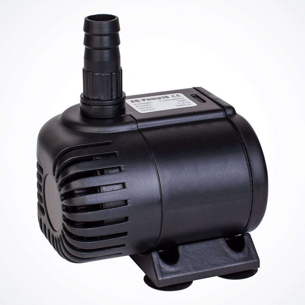 185 gph submersible pump aquarium fish tank powerhead for Fish tank water pump