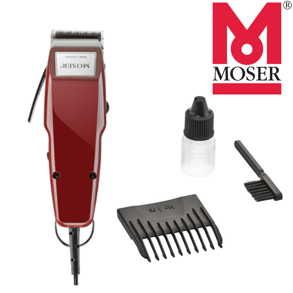 moser 1400 classic professional corded hair clipper 5 click made in germany 4015110000105 ebay. Black Bedroom Furniture Sets. Home Design Ideas
