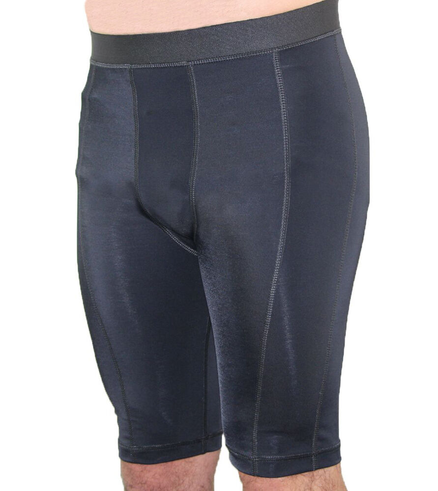 Activewear Compression Shorts Compression shorts give you a competitive edge and are a popular choice at the gym or when playing basketball, baseball and football. They compress your thighs and gluts for extra performance no matter what your sport.