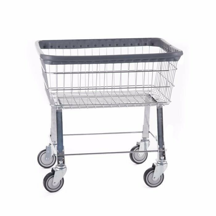 laundry cart on wheels wire laundry basket cart new ebay 10536