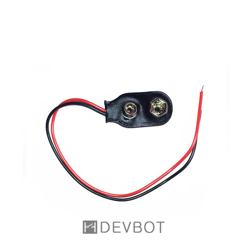 clip coupleur connecteur pour piles 9v fils 6f22 diy arduino raspberry pi ebay. Black Bedroom Furniture Sets. Home Design Ideas