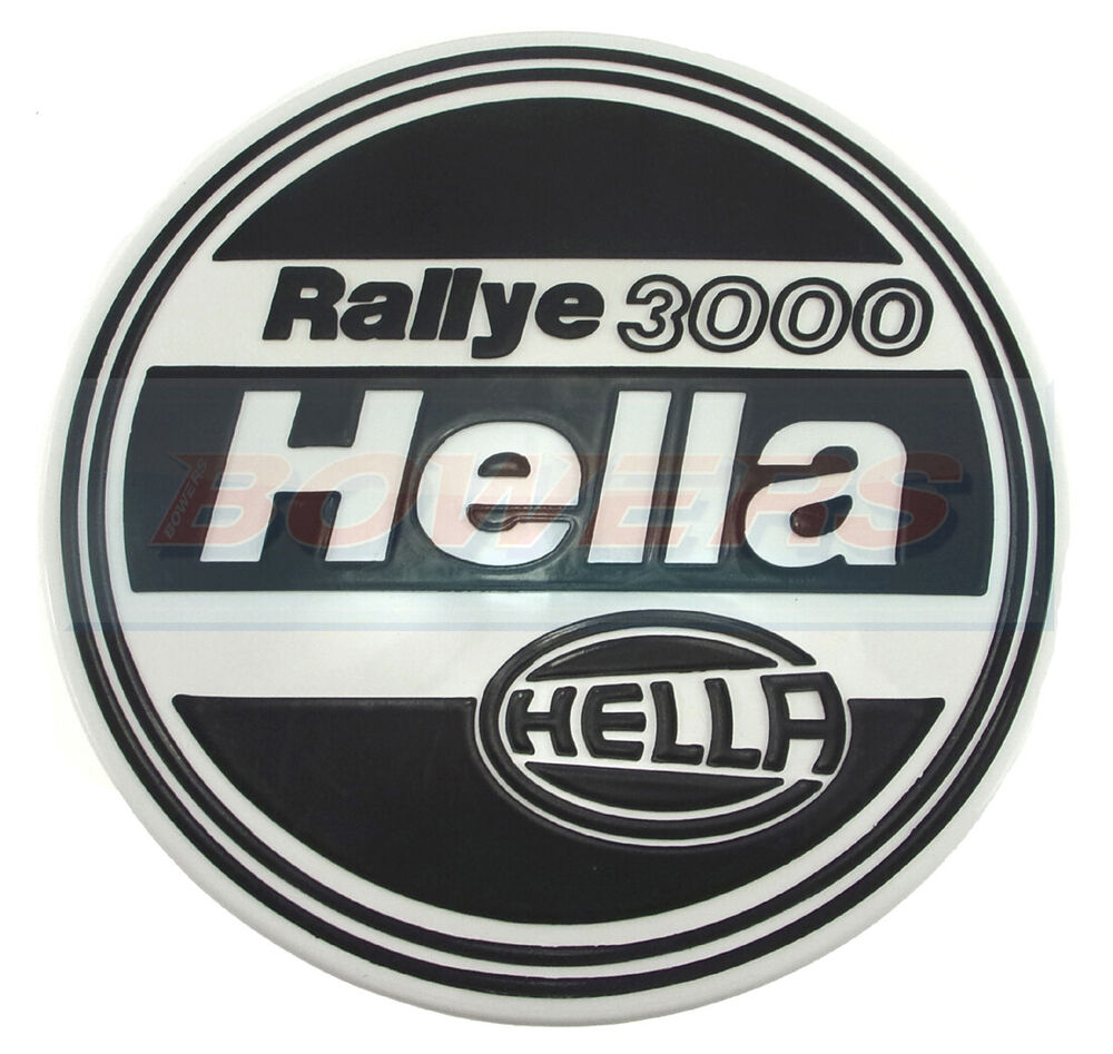 new genuine hella rallye 3000 protective front spot fog. Black Bedroom Furniture Sets. Home Design Ideas