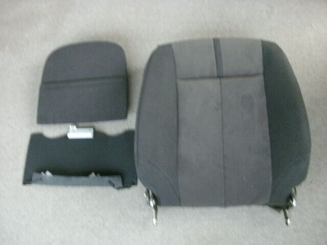 nissan 87600 zn55a right front seat back assembly cloth black 2007 2012 altima ebay. Black Bedroom Furniture Sets. Home Design Ideas