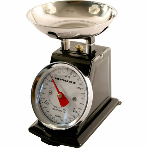 Bn 3kg vintage traditional weighing kitchen scale bowl for Traditional kitchen scales