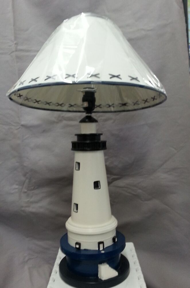Sailboat Table Lamp : Nautical table lamp ebay