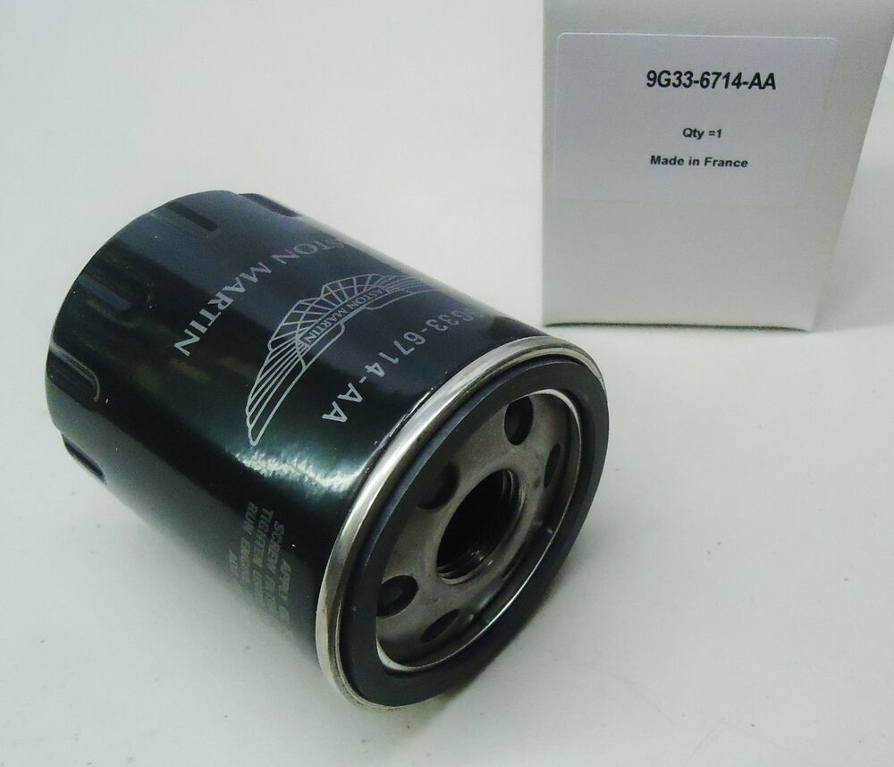 ASTON MARTIN V8 VANTAGE GENUINE OIL FILTER OEM # 9G33-6714