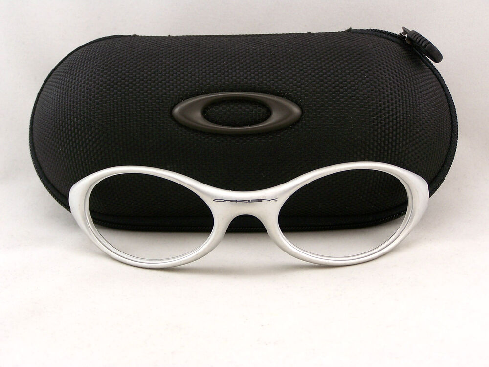Vintage Oakley Eye Jacket 1 0 Sunglasses Preowned Matte
