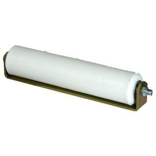 Hard plastic white quot slide gate roller top guide rubber