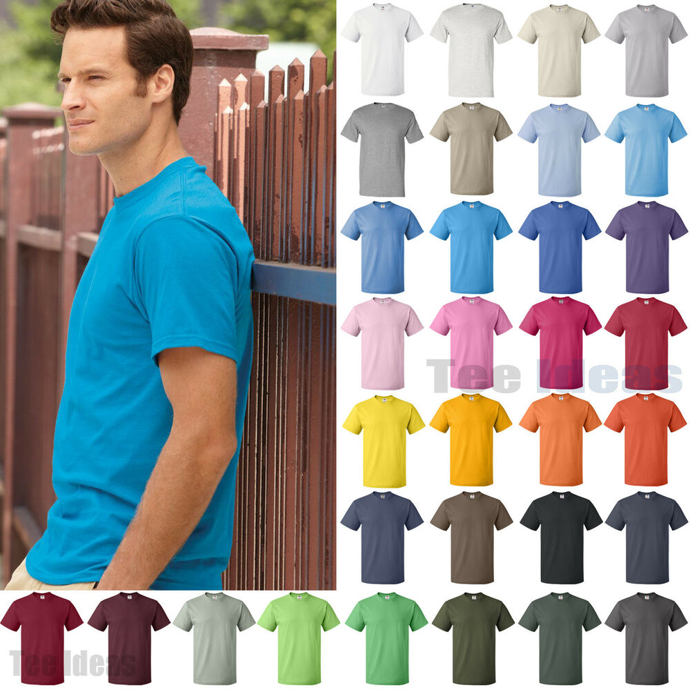 Fruit Of The Loom Heavy Cotton Hd T Shirt 100 Cotton