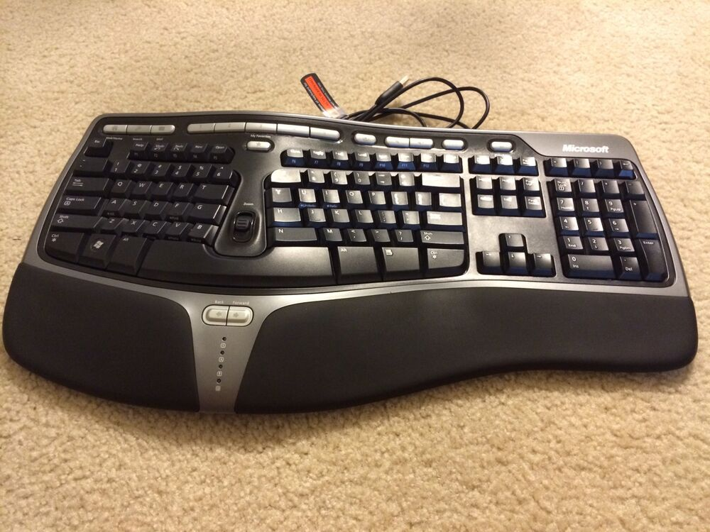 Microsoft Natural Ergonomic Keyboard 4000 B2M00016 Wired 882224046534 | eBay