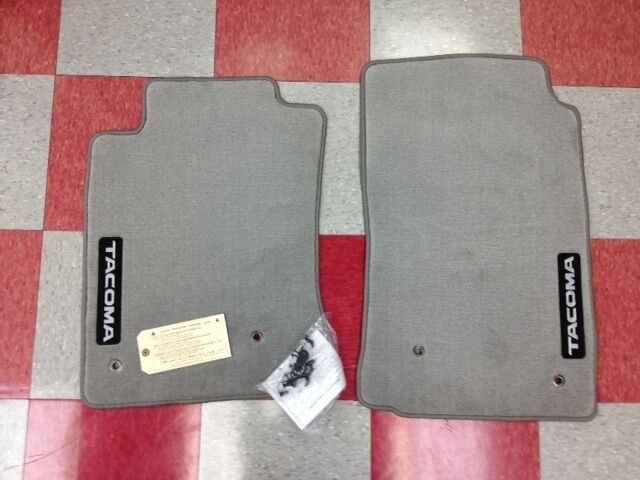 2005 2011 Tacoma All Cabs Front Carpet Floor Mats Light