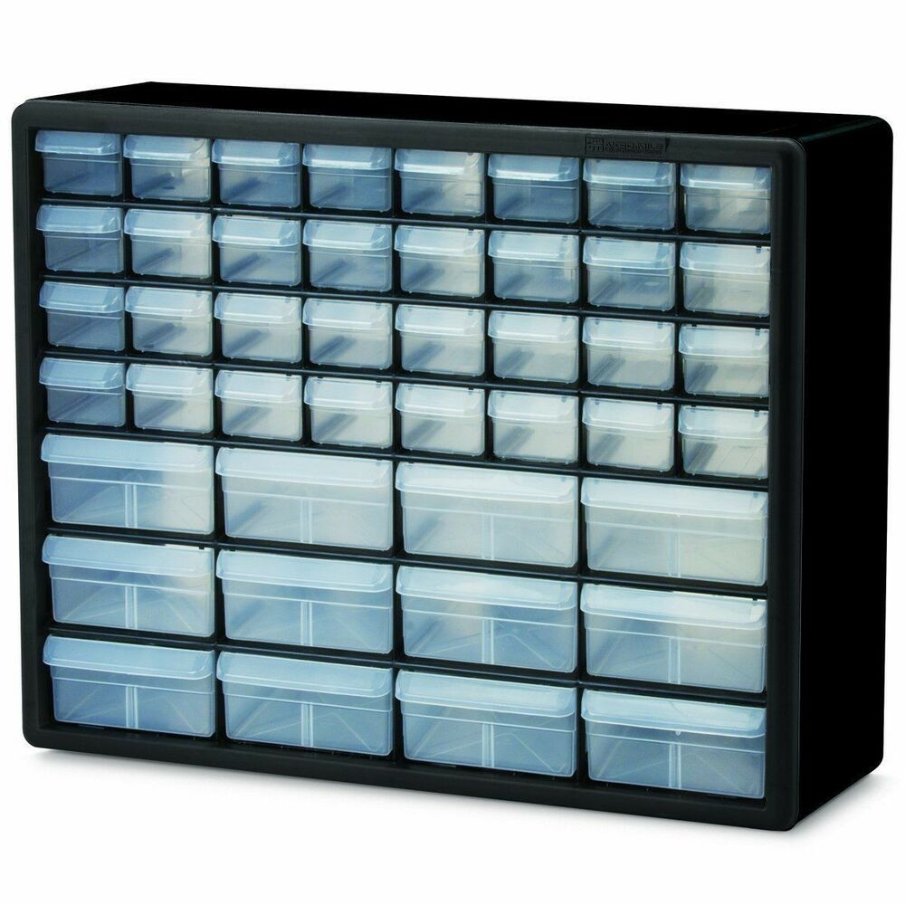 Storage containers hardware craft cabinet art supplies for Plastic craft storage drawers