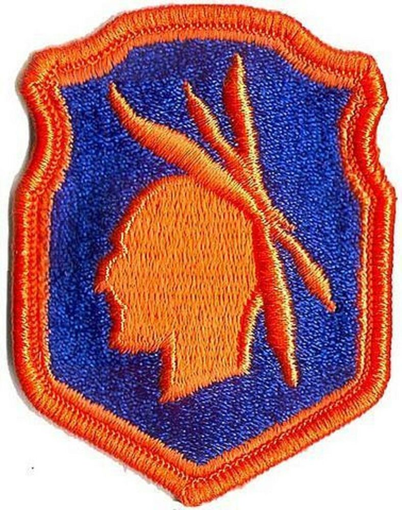 military patch template - us army 98th infantry division patch full color ebay