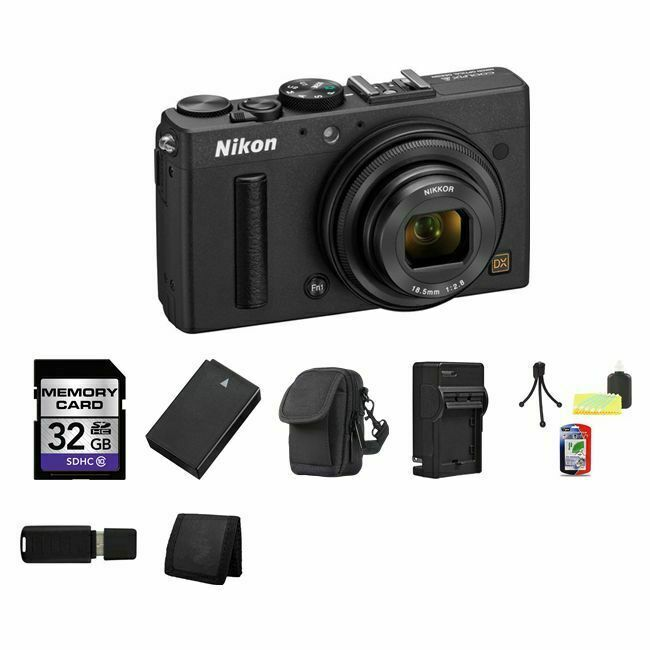 Nikon Coolpix A Digital Camera Black 32gb Package 18208264230 Ebay