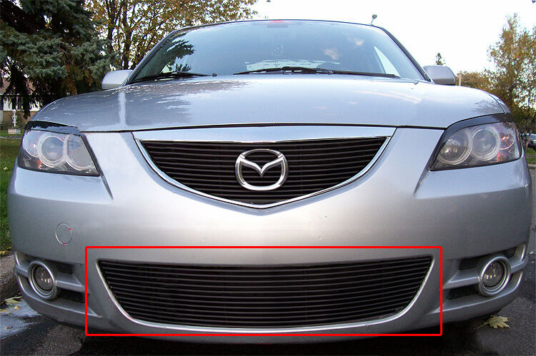 how to change front grill mazda 3 2005