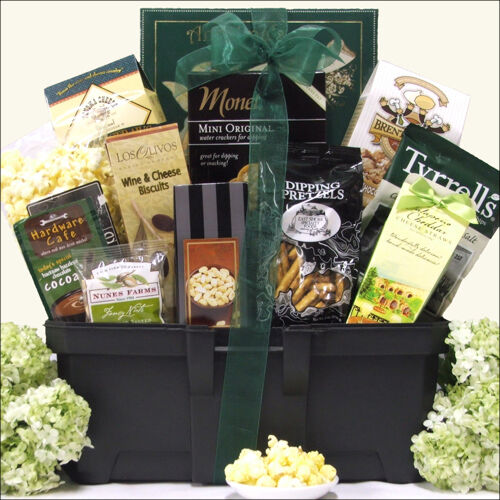 Gift Basket For Housewarming Toolbox Filled With Gifts