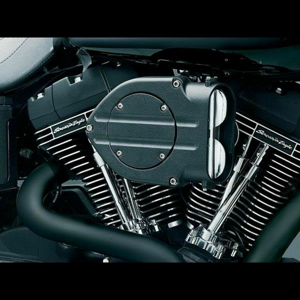 Harley Hypercharger Air Cleaner: Filtro De Aire Para Harley-Davidson Kuryakyn Hypercharger