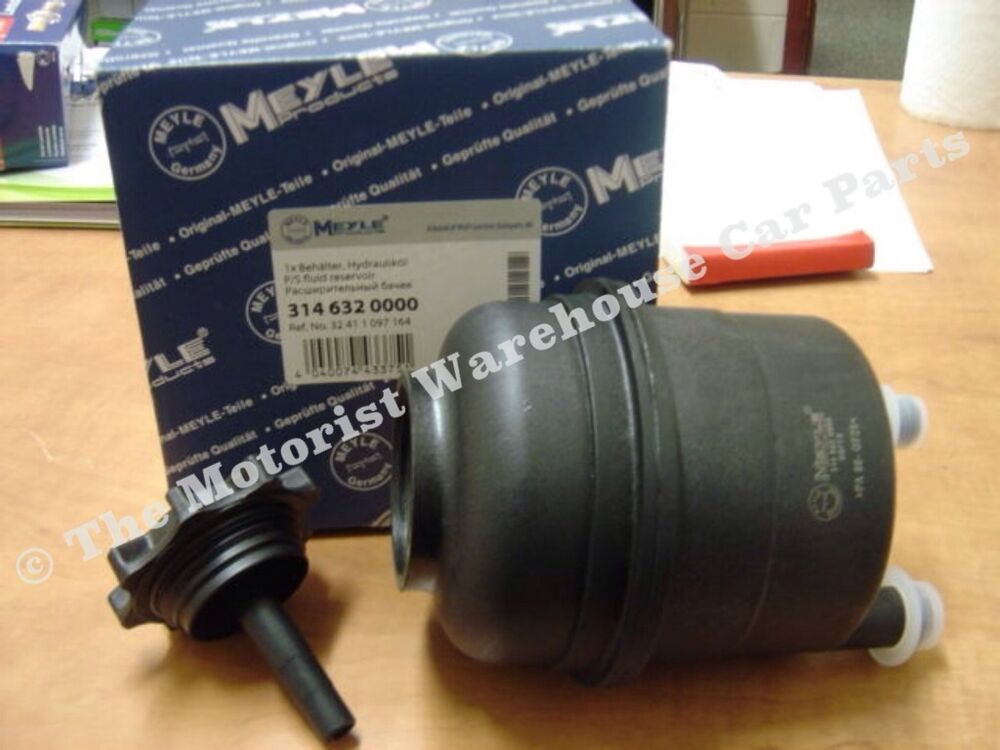 bmw x5 power steering fluid reservoir tank with cap new meyle germany. Cars Review. Best American Auto & Cars Review