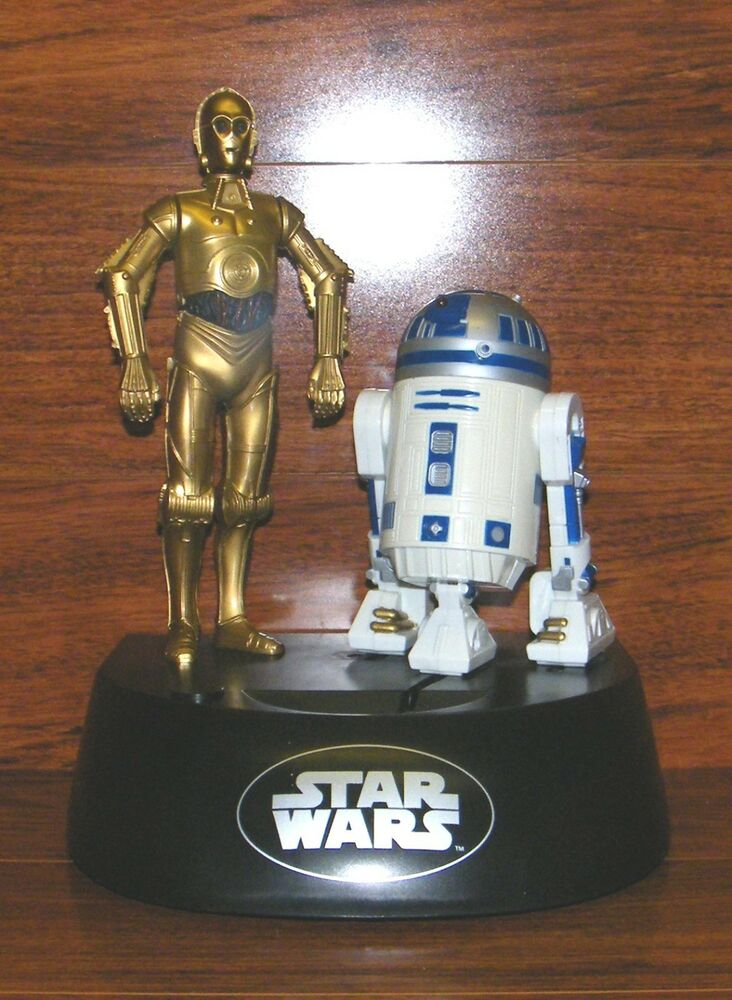 R2d2 And C3po Toys : Star wars c po r d electronic talking action