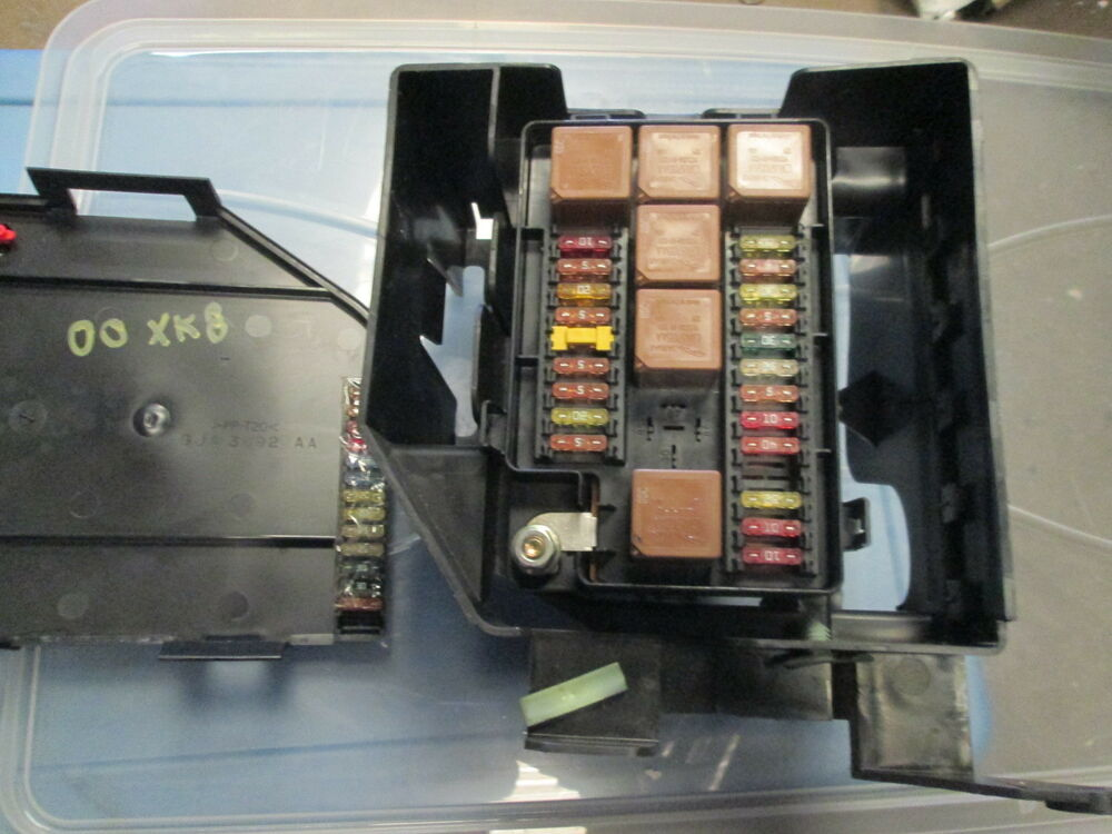 Jaguar xk fuse box diagram