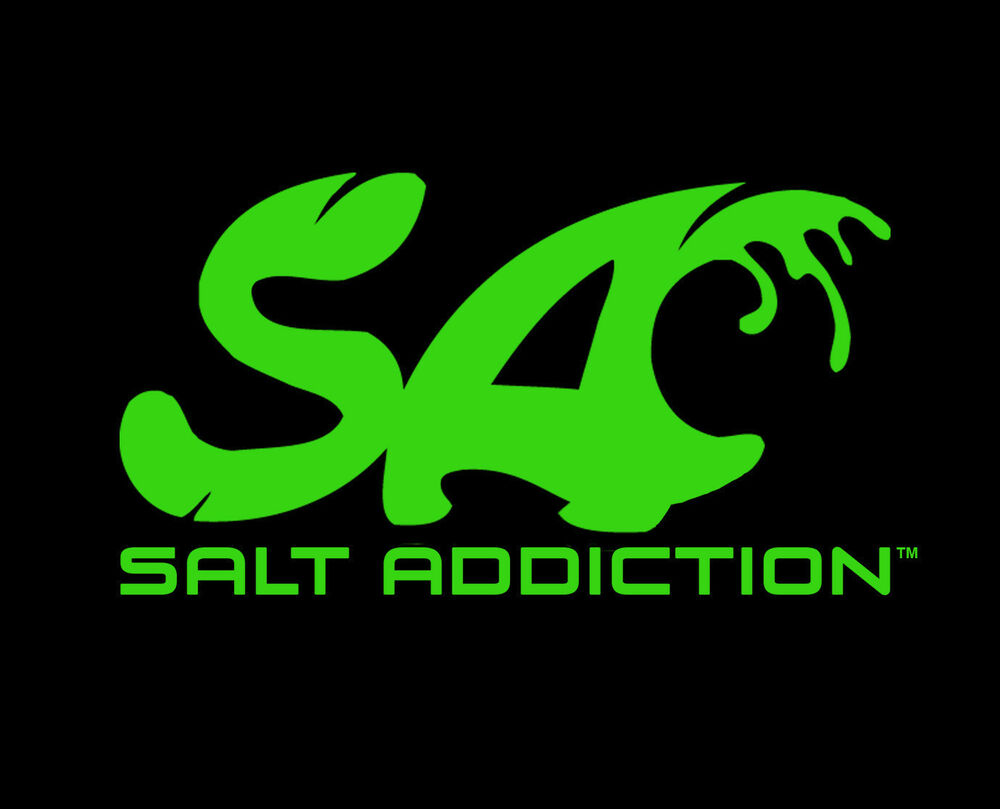 Saltwater fishing decal salt addiction sticker tackle for Saltwater fishing decals
