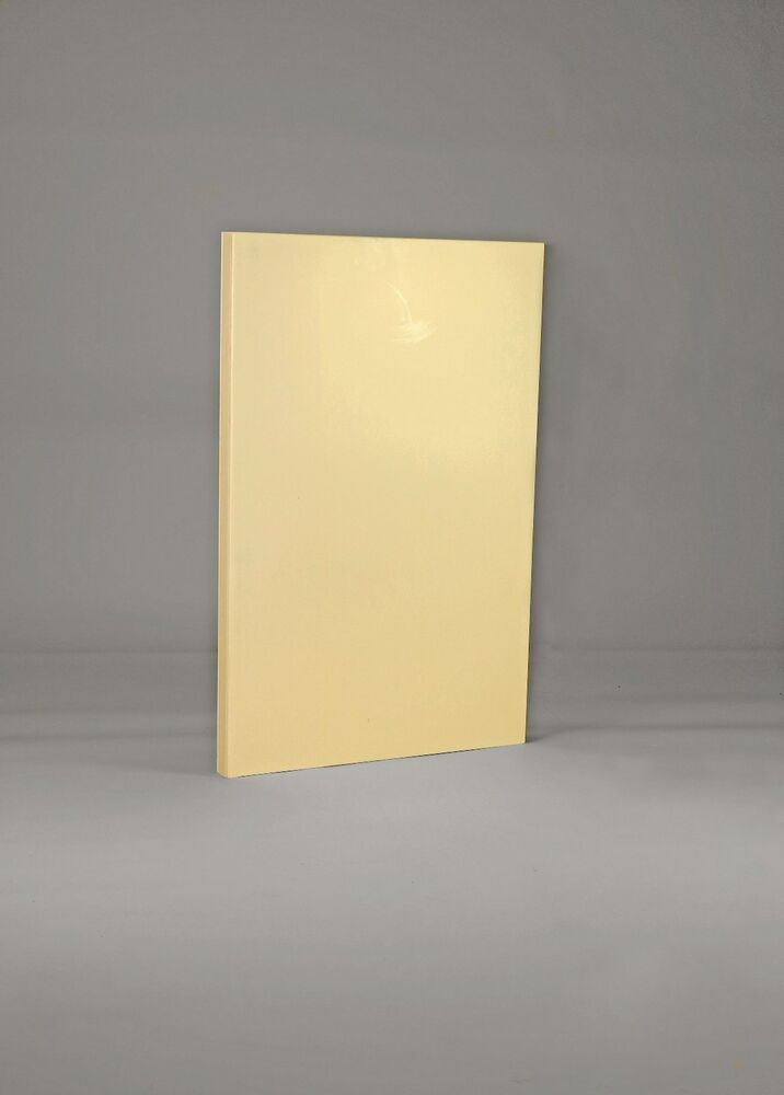 Solid wood 600mm end panel for kitchen base unit primed for Kitchen cupboard carcasses 600mm